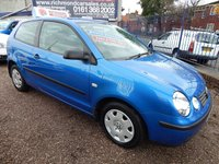 USED 2004 54 VOLKSWAGEN POLO 1.2 E 3d 54 BHP LOW MILEAGE, CHEAP INSURANCE, VERY CLEAN EXAMPLE