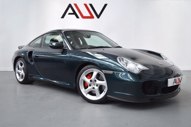 2003 03 PORSCHE 911 MK 996 3.6 TURBO 2d 415 BHP X50 POWER KIT