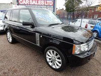 USED 2007 07 LAND ROVER RANGE ROVER 3.6 TDV8 VOGUE 5d AUTO 272 BHP BIG SPEC CAR, LEATHER,SAT NAV, TV, REVERSE CAMERA, F.S.H
