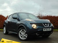 USED 2012 62 NISSAN JUKE 1.6 TEKNA DIG-T 5d AUTOMATIC 4X4 with 128 POINT AA INSPECTION