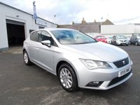 USED 2015 15 SEAT LEON 1.6 TDI SE 5d 105 BHP low tax one free service with this car