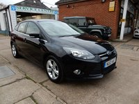 USED 2013 13 FORD FOCUS 1.0 ZETEC 5d 124 BHP FULL FORD HISTORY,TWO KEYS,AIR CON,PARKING AID,BLUETOOTH
