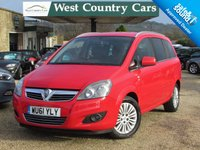 USED 2011 61 VAUXHALL ZAFIRA 1.7 EXCITE CDTI ECOFLEX 5d 108 BHP Excellent Value 7 Seat MPV
