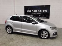 USED 2013 13 VOLKSWAGEN POLO 1.2 R LINE TSI 5d 104 BHP