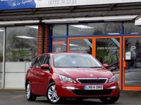 USED 2014 64 PEUGEOT 308 1.6 HDi SW ACTIVE SAT NAV 5dr 115 BHP