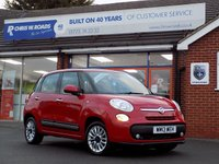 USED 2013 13 FIAT 500L 1.3 MULTIJET LOUNGE 5dr 85 BHP *ONLY 9.9% APR with FREE Servicing*