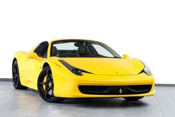 2015 FERRARI 458 Ferrari 458 Spider 2dr Auto 4.5 £199450.00