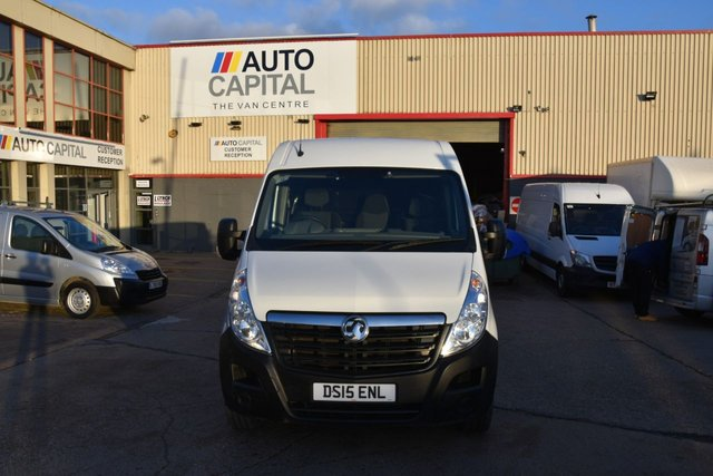 2015 15 VAUXHALL MOVANO 2.3 F3500 L3H2 P/V CDTI 5d 109 BHP LWB H/ROOF FWD DIESEL PANEL MANUAL VAN ONE OWNER FULL S/HISTORY
