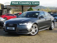 USED 2015 15 AUDI A6 2.0 TDI ULTRA S LINE 4d AUTO 188 BHP Only One Owner From New