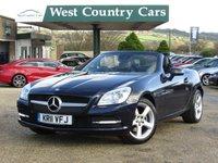 USED 2011 11 MERCEDES-BENZ SLK 1.8 SLK200 BLUEEFFICIENCY 2d 184 BHP Full Mercedes Service History
