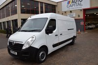 USED 2015 15 VAUXHALL MOVANO 2.3 F3500 L3H2 P/V CDTI 5d 109 BHP LWB H/ROOF FWD DIESEL PANEL MANUAL VAN ONE OWNER S/H SPARE KEY
