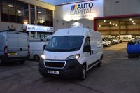 USED 2015 15 PEUGEOT BOXER 2.2 HDI 335 L3H2 P/V 5d 130 BHP LWB FWD DIESEL PANEL MANUAL VAN ONE OWNER LOW MILEAGE VAN