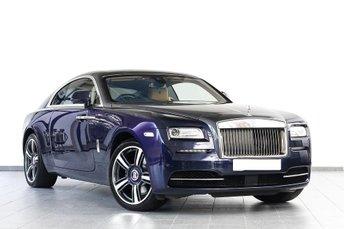 2016 ROLLS-ROYCE WRAITH Rolls-Royce Wraith 2dr Auto 6.6 Starlight + Night Vision £179895.00