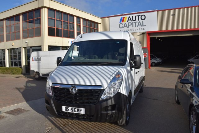 2015 15 VAUXHALL MOVANO  L3H2 P/V CDTI 5d 109 BHP LWB HIGH ROOF FWD DIESEL MANUAL VAN ONE OWNER FULL SERVICE HISTORY