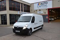 USED 2015 65 VAUXHALL MOVANO 2.3 F3500 L3H2 P/V CDTI 5d 109 BHP LWB H/ROOF FWD DIESEL PANEL MANUAL VAN ONE OWNER FULL S/H SPARE KEY