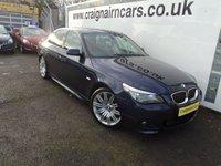 2007 BMW 5 SERIES 2.5 530D AC 4d AUTO 232 BHP £9995.00