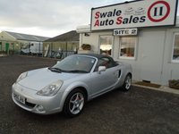 USED 2005 55 TOYOTA MR2 1.8 ROADSTER 2d 138 BHP £31 PER WEEK OVER 3 YEARS, SEE FINANCE LINK BELOW