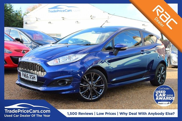 View our 2016 T FORD FIESTA 1.0 ST-LINE 3d 124 BHP