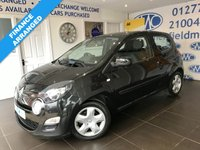 USED 2013 13 RENAULT TWINGO 1.1 DYNAMIQUE 3d 75 BHP