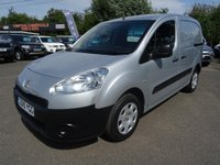 USED 2015 15 PEUGEOT PARTNER 1.5HDi Professional L1 850
