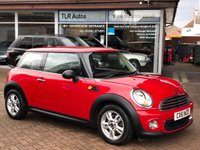 2011 MINI HATCH ONE Avenue 1.6 ONE 3d 98 BHP £5750.00