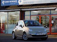 USED 2014 64 FIAT 500 1.2 LOUNGE 3dr * Full Leather & Pan Roof *