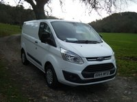 2014 FORD TRANSIT CUSTOM 2.2 270 TREND LR P/V 1d 99 BHP £11495.00