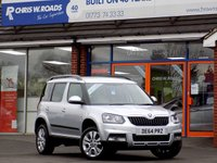 USED 2014 64 SKODA YETI 2.0 TDi CR OUTDOOR ELEGANCE 5dr * Full Leather *