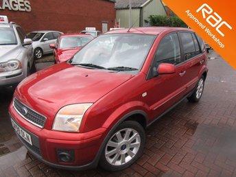 2009 FORD FUSION 1.6 TITANIUM 5d AUTO 100 BHP £3990.00