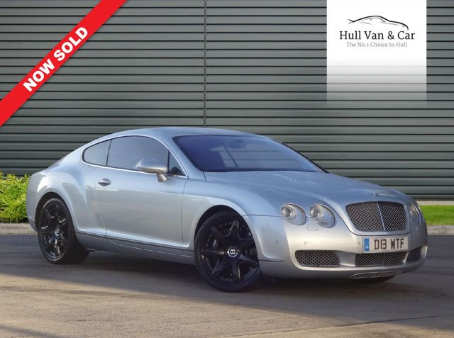 2005 05 BENTLEY CONTINENTAL 6.0 GT 2d 550 BHP