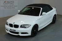 USED 2011 BMW 1 SERIES 2.0 123D M SPORT 202 BHP AUTO A/C SAT NAV 4 OWNER FROM NEW, MOT UNTIL 18/02/2019