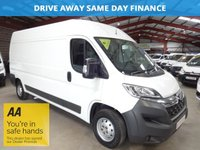 USED 2015 65 CITROEN RELAY 2.2 35 L3H2 ENTERPRISE HDI 130 BHP LWB HI ROOF-ONE OWNER-SERVICE HISTORY '' YOU'RE IN SAFE HANDS ''    WITH THE AA DEALER PROMISE