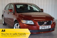USED 2010 10 VOLVO S40 1.6 D DRIVE SE 4d 109 BHP