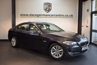USED 2011 60 BMW 5 SERIES 2.0 520D SE 4DR 181 BHP + FULL BEIGE LEATHER INTERIOR + EXCELLENT SERVICE HISTORY + PRO SATELLITE NAVIGATION + BLUETOOTH + CRUISE CONTROL + DAB RADIO + VOICE CONTROL + PARKING SENSORS + 17 INCH ALLOY WHEELS +