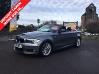 USED 2011 61 BMW 1 SERIES 2.0 118I M SPORT 2d AUTO 141 BHP FULL AUTOMATIC , CONVERTIBLE