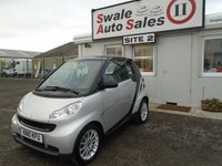 USED 2010 J SMART FORTWO 0.8 PASSION CDI 2d AUTO 54 BHP £20 PER WEEK NO DEPOSIT, SEE FINANCE LINK BELOW