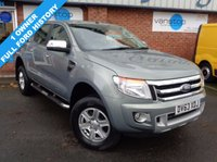 USED 2013 63 FORD RANGER 2.2 LIMITED 4X4 DCB TDCI 1d 148 BHP