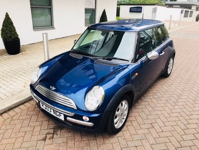 2003 03 MINI HATCH ONE 1.6 ONE 3d AUTO 89 BHP