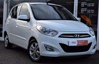2012 HYUNDAI I10 1.2 STYLE 5d 85 BHP AIR-CON £20 P/YEAR TAX £4990.00