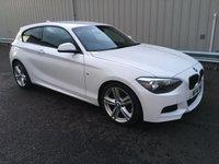2014 BMW 1 SERIES 2.0 118D M SPORT 3d 141 BHP £12500.00