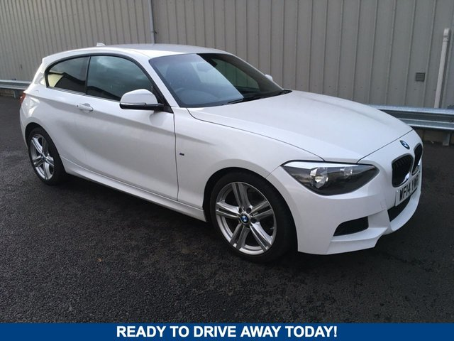 2014 14 BMW 1 SERIES 2.0 118D M SPORT 3d 141 BHP