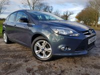 USED 2012 12 FORD FOCUS 1.0 ECO BOOST ZETEC 5d WITH EXTRAS