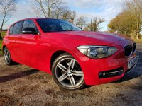 USED 2013 62 BMW 1 SERIES 1.6 116I SPORT 5d SERVICE HISTORY