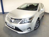 USED 2012 62 TOYOTA AVENSIS 2.0 TR D-4D 4d 124 BHP