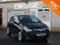 USED 2014 64 VAUXHALL CORSA 1.4 SRI 3d 98 BHP 17 Inch Alloys , Sports Seats ,Leather steering wheel
