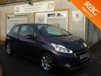 USED 2013 63 PEUGEOT 208 1.2 ACTIVE 3d 82 BHP DAB Radio ,Bluetooth ,£20 Road Tax ,Cruise Control