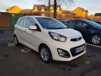 USED 2014 64 KIA PICANTO 1.2 2 5d AUTO 84 BHP HIGH SPECIFICATION AUTOMATIC WITH KIA WARRANTY , BLUETOOTH,IPOD,MEDIA CONNECTIVITY, TRACTION CONTROL AND AIR CONDITIONING!!..EXCELLENT FUEL ECONOMY!!...LOW CO2 EMISSIONS..LOW ROAD TAX...FULL HISTORY...ONLY 9497 MILES FROM NEW!