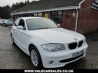 USED 2006 06 BMW 1 SERIES 120d SE 5 dr FULL SERVICE HISTORY / FINISHED IN THE BEST COLOUR