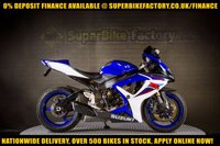 USED 2008 08 SUZUKI GSXR600 600CC 0% DEPOSIT FINANCE AVAILABLE GOOD & BAD CREDIT ACCEPTED, OVER 500+ BIKES IN STOCK