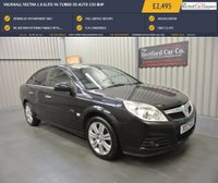 USED 2009 VAUXHALL VECTRA 2.8 ELITE V6 TURBO 5d AUTO 250 BHP